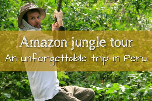 AMAZON JUNGLE TOUR IN PERU